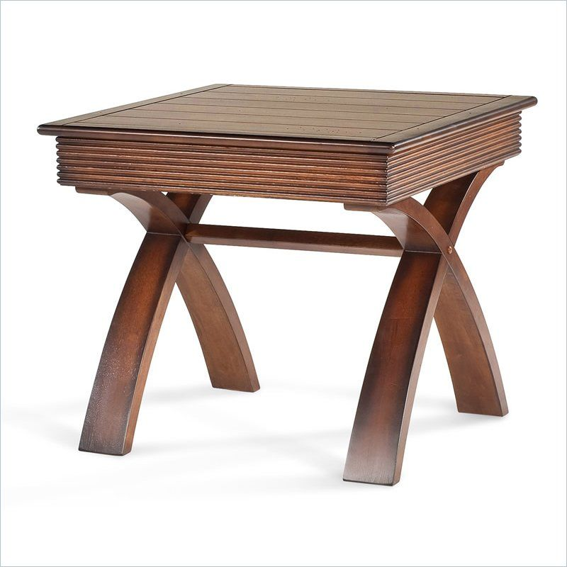 Magnussen Bali Tables Square End Table 48207 Lowest Price Online