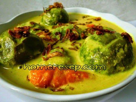 Resep Opor Terong Bulat Hijau Resep Masakan Homemade Resep Masakan Resep Resep Masakan Indonesia