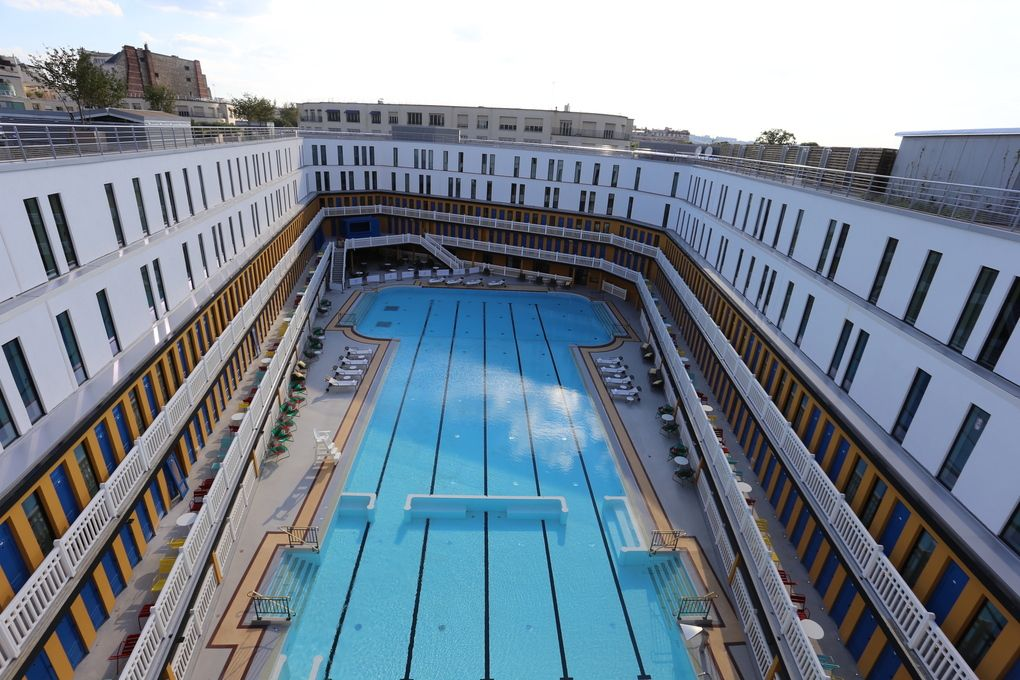Swimming In Luxury An Iconic Pool Is Reborn Paris The Verge