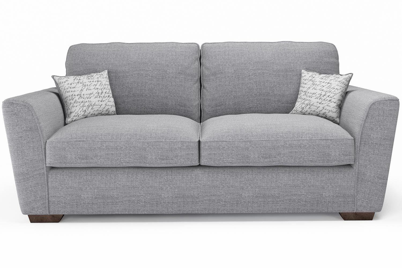 Three Seater Sofas In 2020 Fabric Sofa Sofas Ireland Grey Fabric Sofa