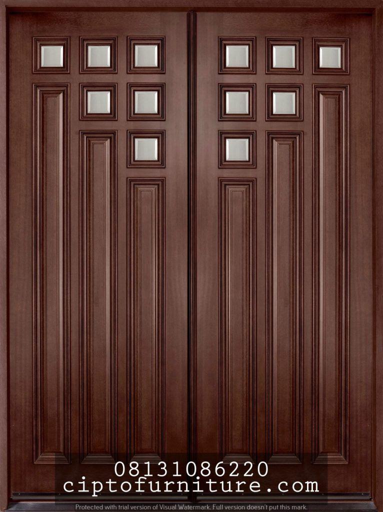 Gambar Depan Rumah : gambar, depan, rumah, Pintu, Depan, Tarung, Klasik, Minimalis, Gambar, Rumah, Model, Mewah, Terbaru, Jati…, Kusen, Pintu,, Ganda,
