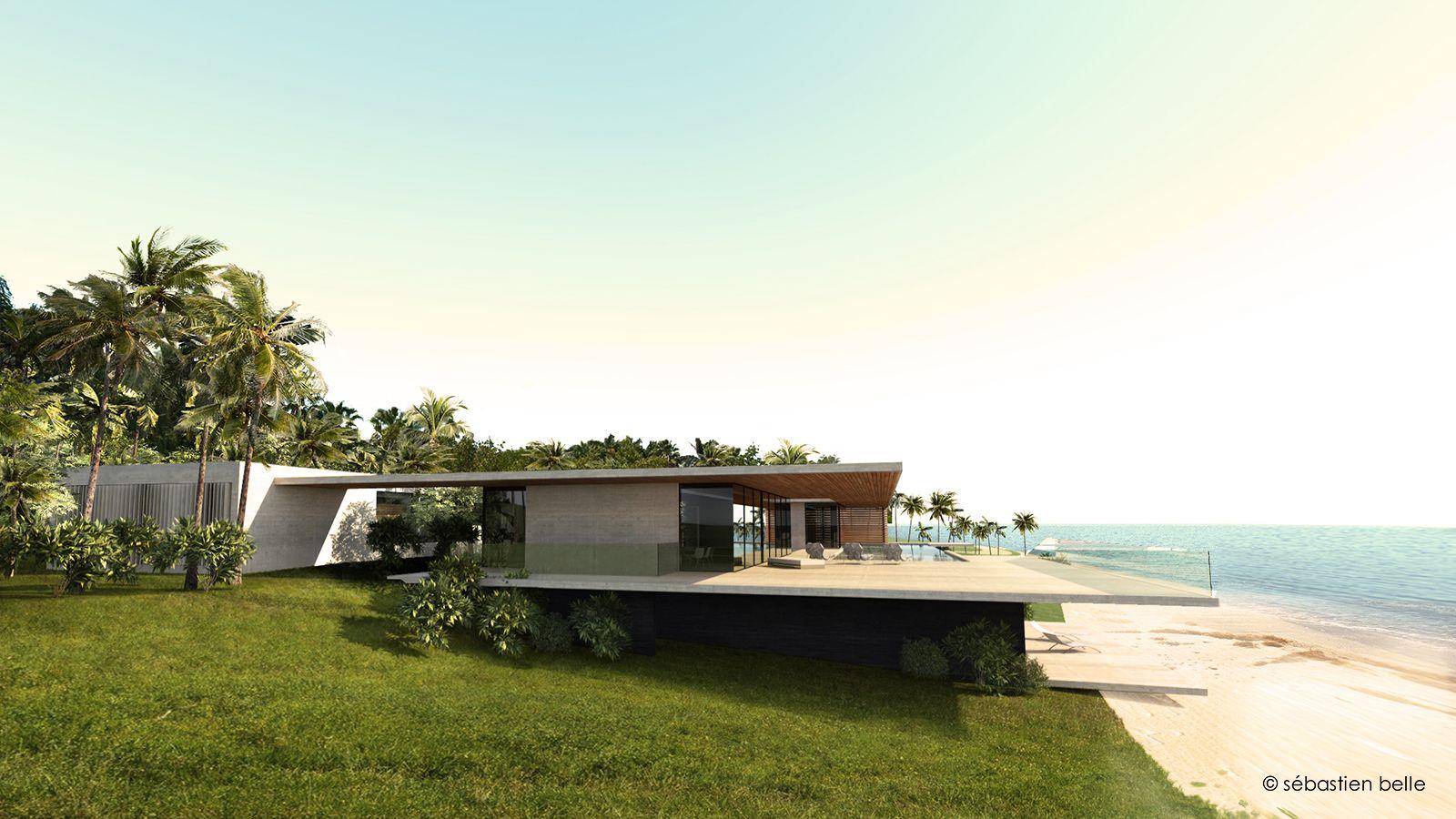 Luxury house in Florida. Architectes villas design Miami. | J\'aime ...