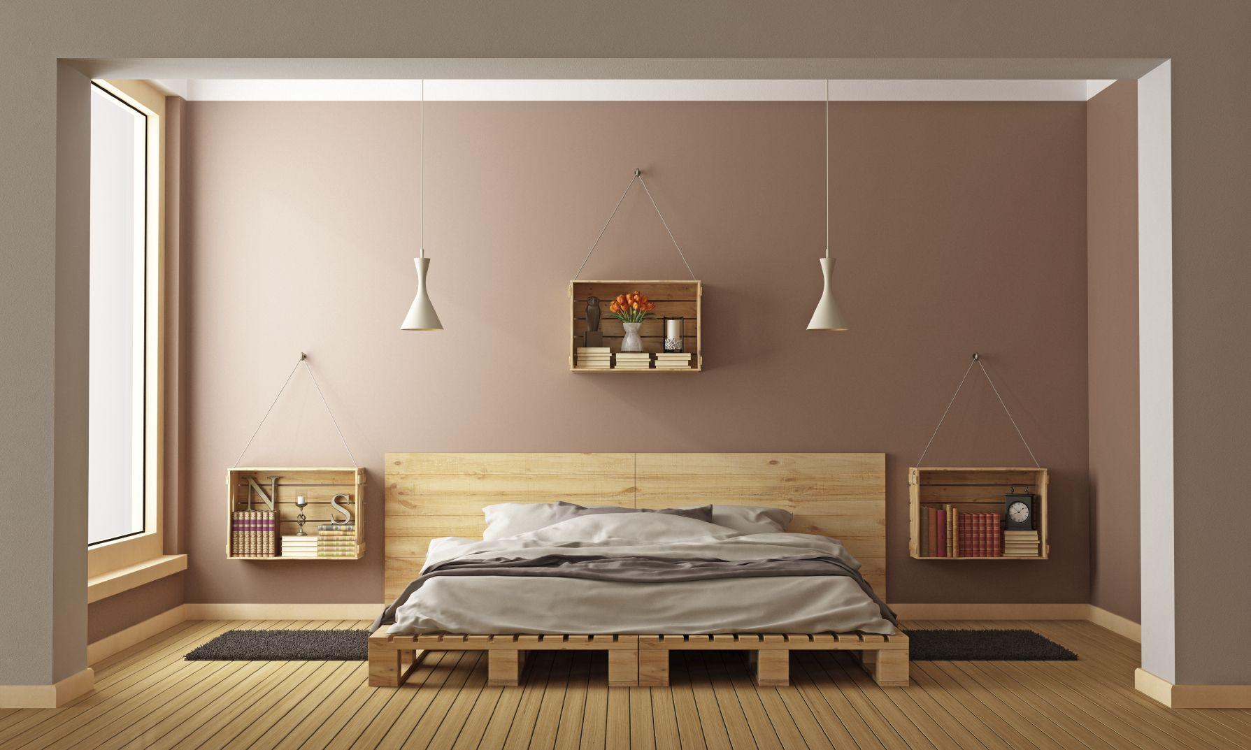Tips slaapkamer inrichten ons huis in bedroom pallet bed