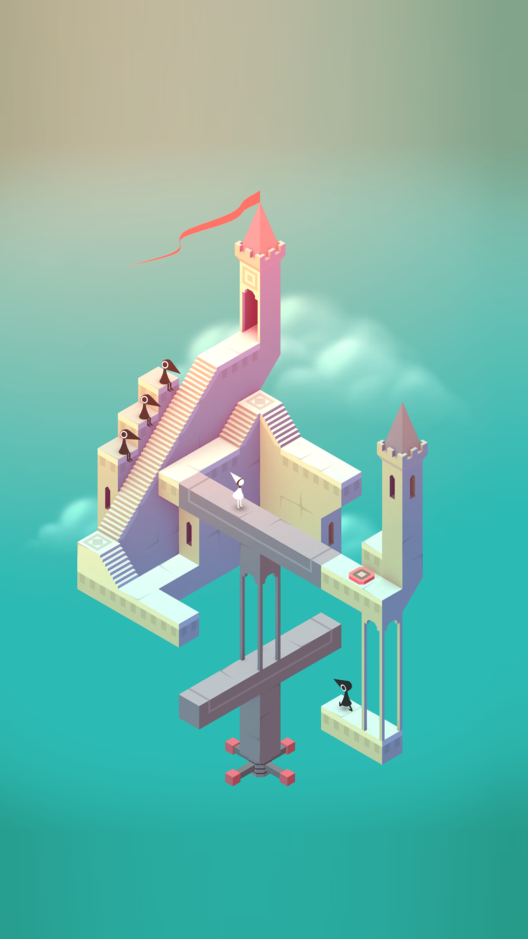 Monument Valley Wallpaper Phone Wallpapers Monument Valley Game