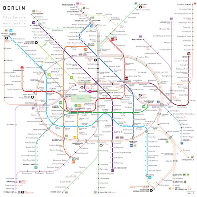 Simplified Subway Maps Subway Map Metro Map Transit Map