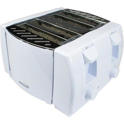 Best Brentwood Appliances 1300 Watt 4 Slice White Cool Touch 640 x 480