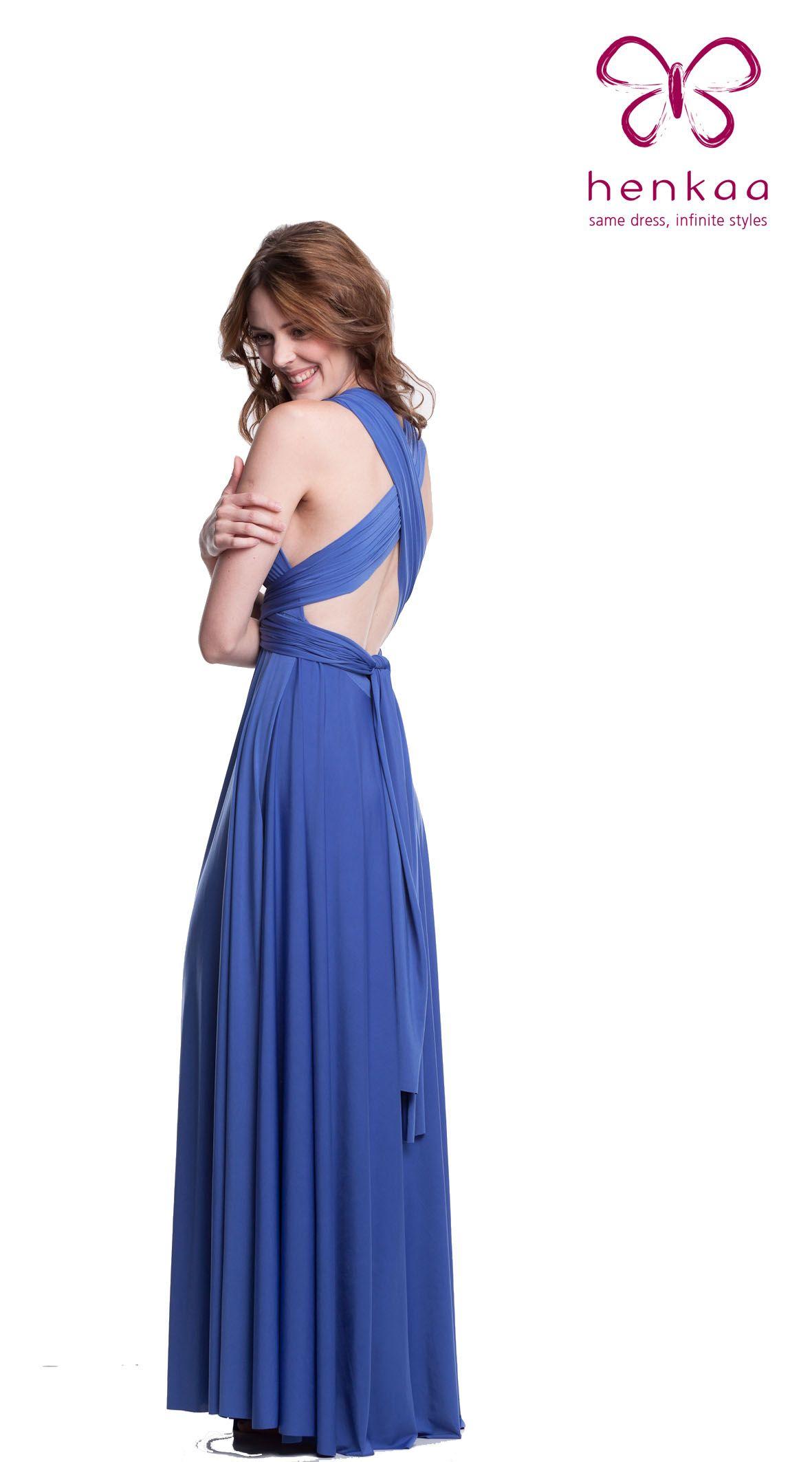 Henkaa Sakura Convertible Long Gown $168.00 Henkaa Convertible style ...