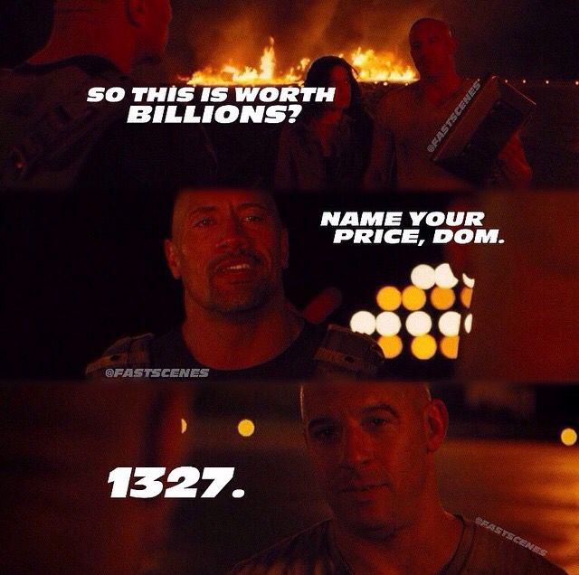 1327 True F F Fans Would Now That Number Fast And Furious Fast And Furious Cast Fast Furious Quotes