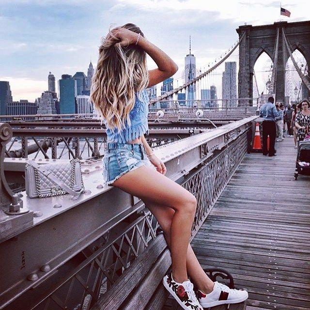 It is @xeniaoverdose #therawstrip #fashionblogger #newyorkcity #america #onlyinamerica #newyorkskyline #fashionblogger #fashionlife #instablogger #travelling #worldtraveler #beautylife #photooftheday #likeforlike #followforfollow #instafame #usa #loveit