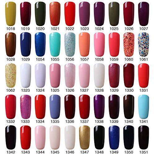 Elite99 Pick Any 12 Colors Soak Off Gel Nail Polish Uv Led Color Nail Art Gift Set Gel Nail Polish Gel Nail Polish Set Nail Polish