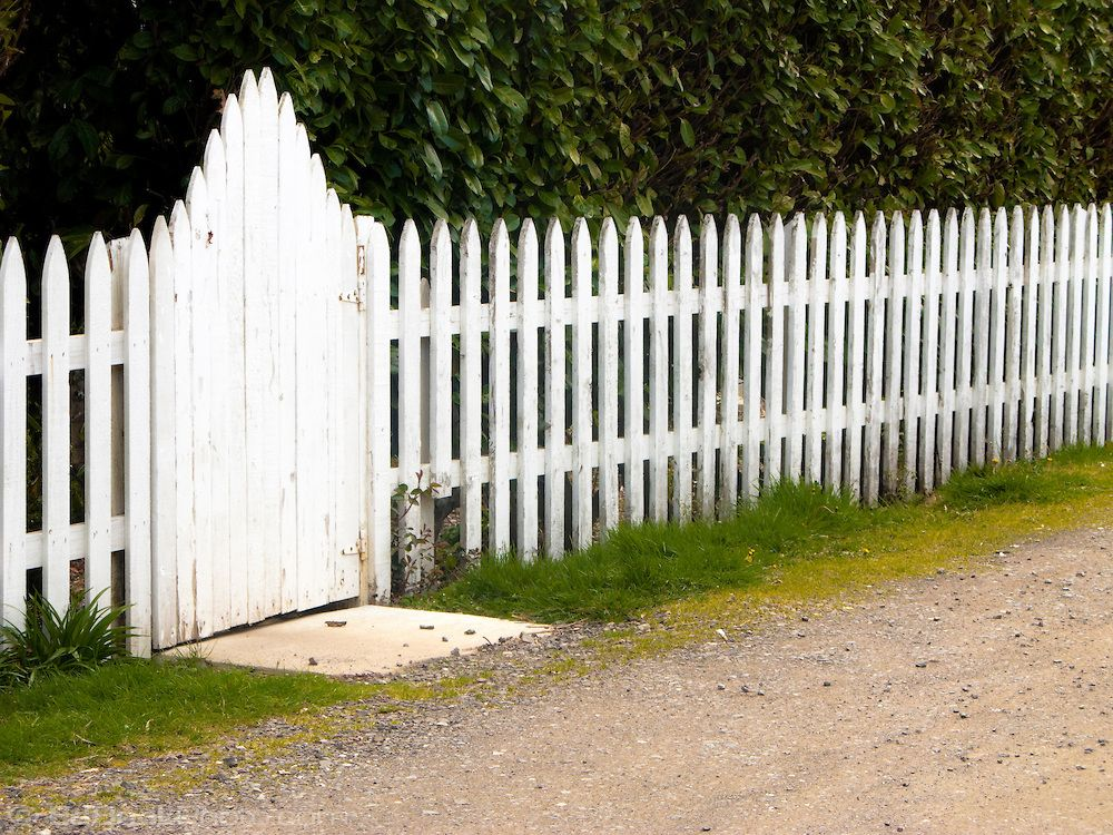 Picket Fence Gate