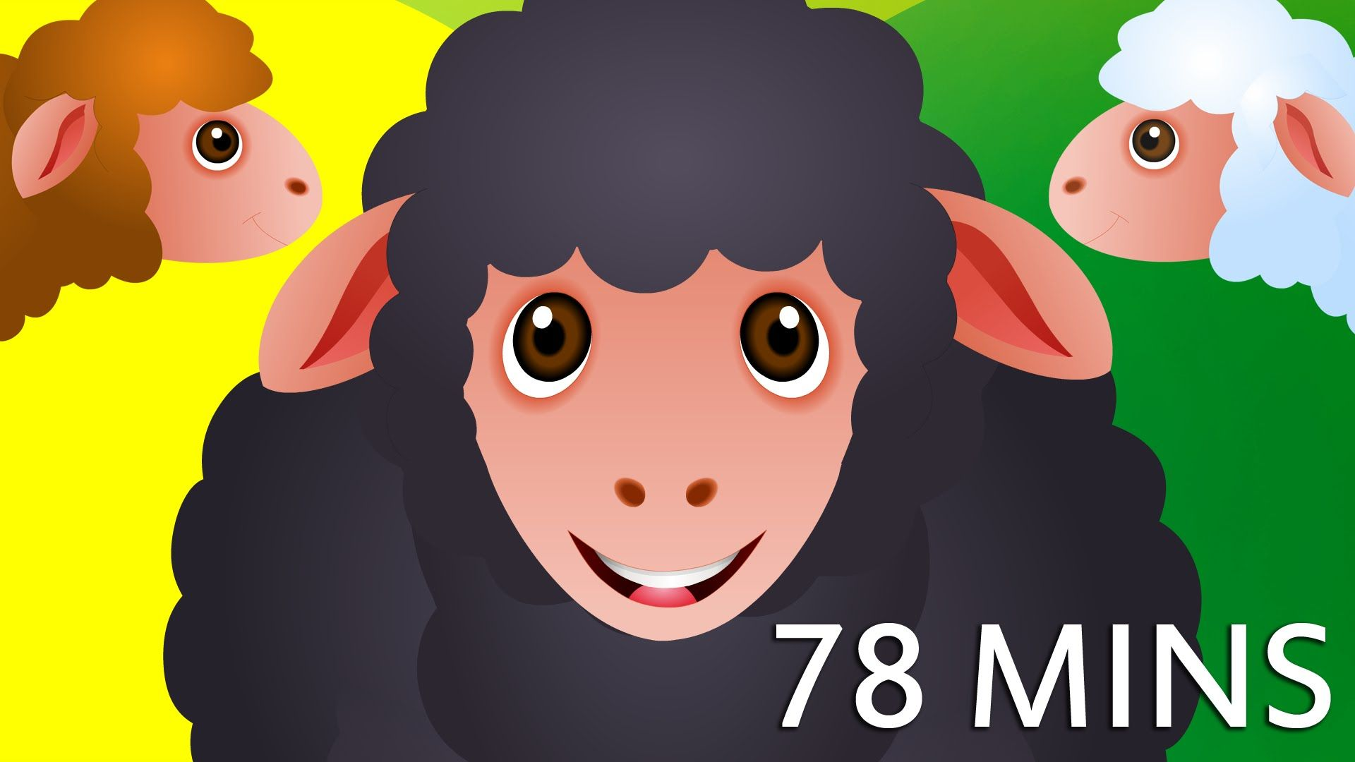 Baa Baa Black Sheep And Many More Kids Songs Popular Nursery Rhymes Collection By Chuchu Tv Kids Songs Nursery Rhymes Collection Kids Nursery Rhymes