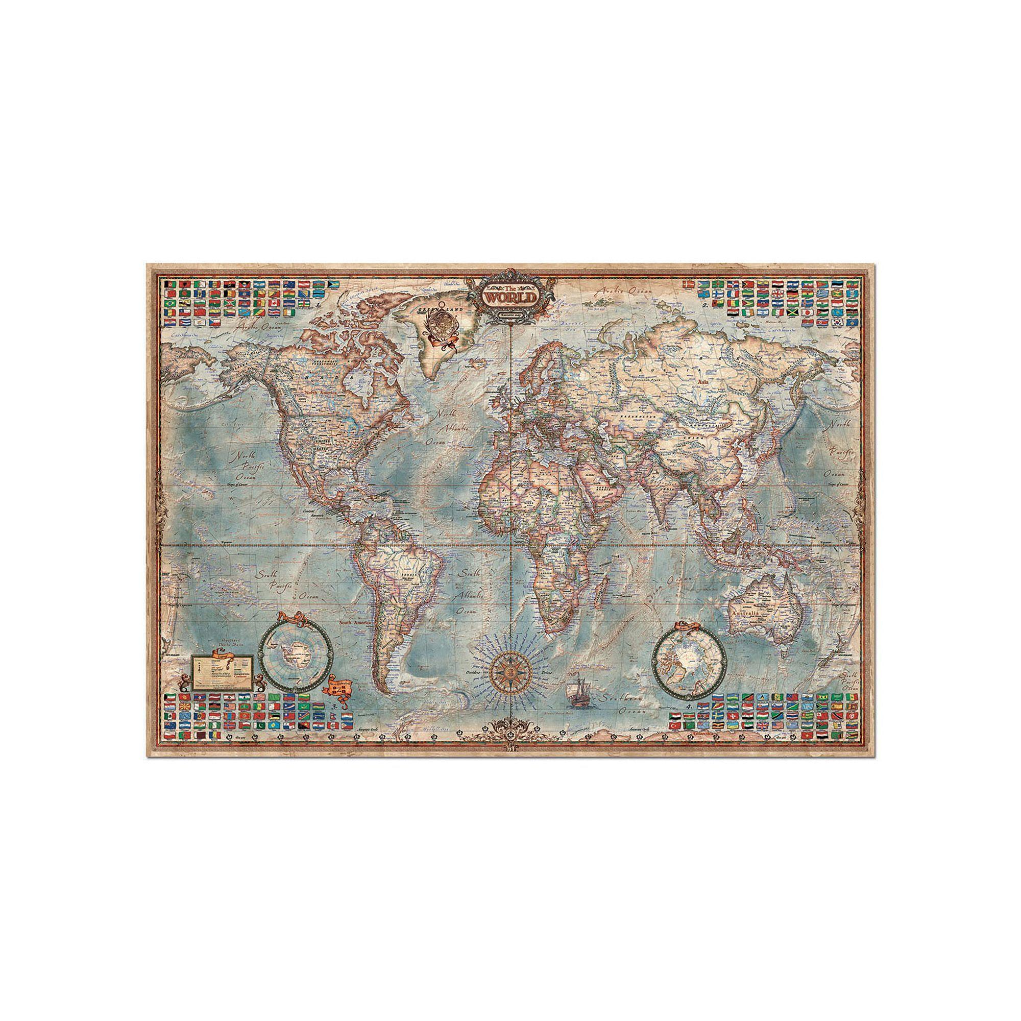 Educa World Map Puzzle
