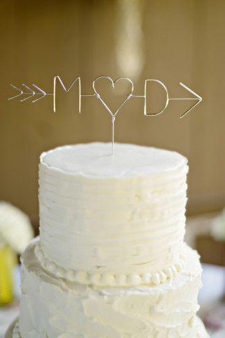 14 Word Cake Topper Ideas For Your Wedding Cake Wedding Cake