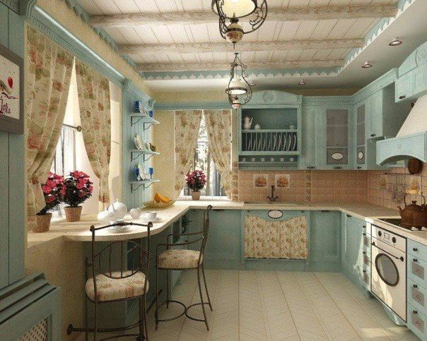 Kitchen in the style of Provence | Beautiful pictures ,Сars,Design ...