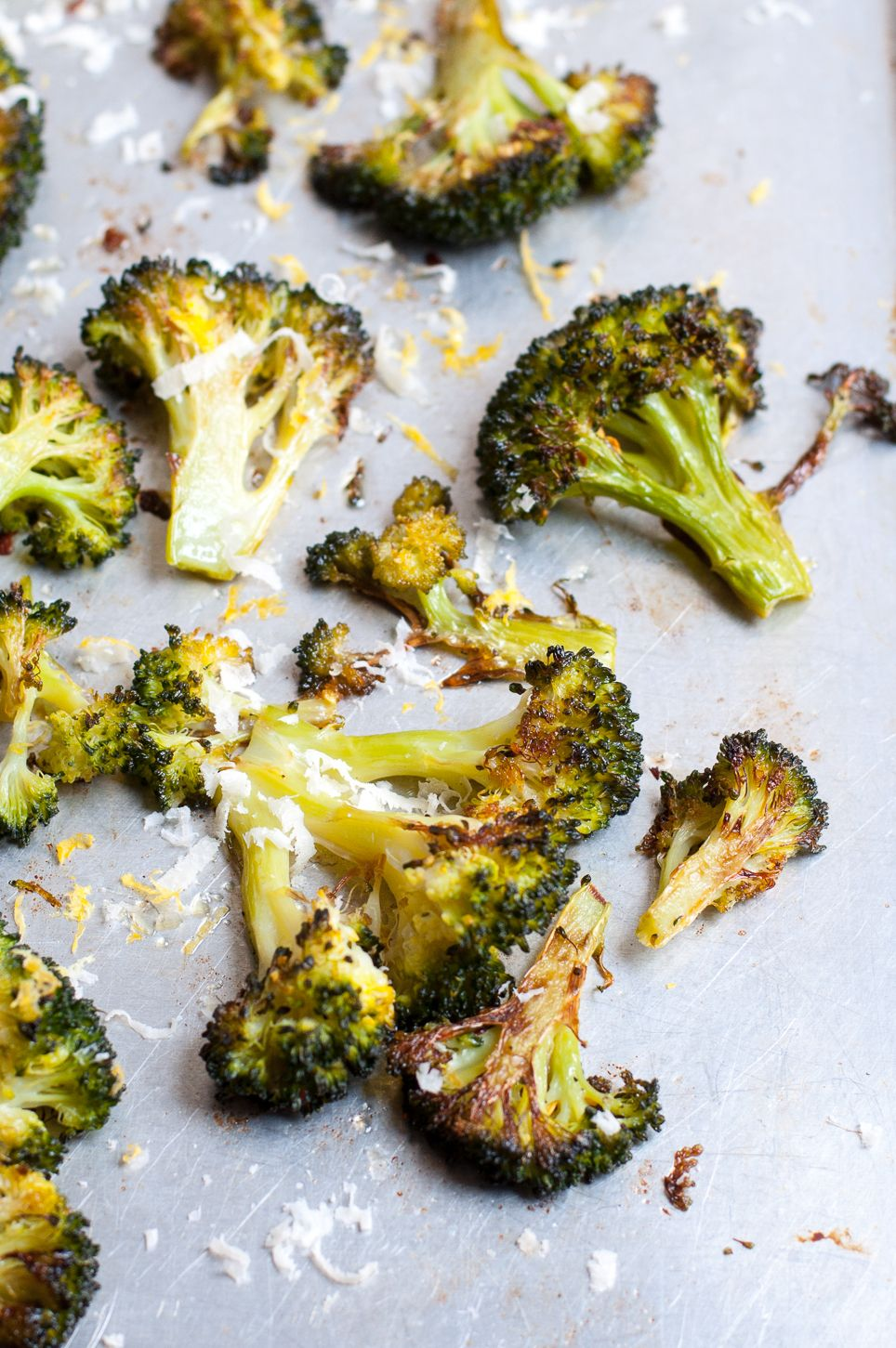 Brokkoli aus dem Backofen #simplehealthydinner