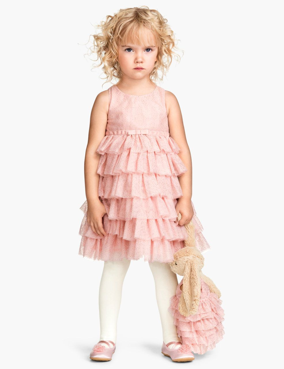 58cb8f7217b0 H&M - Little Girls Pink Dress Once Upon A Time Collection | Dresses ...