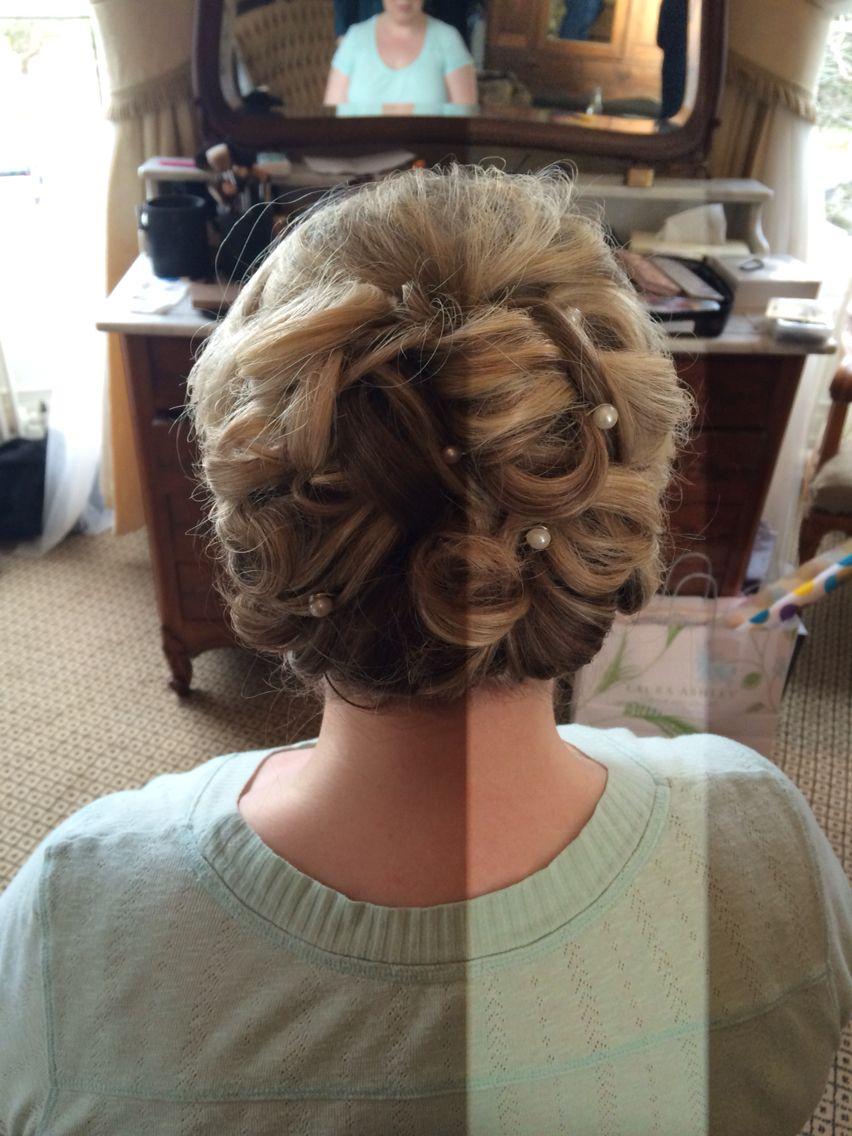 wedding hair pin-up by sally ward @labellevous | bridal hair