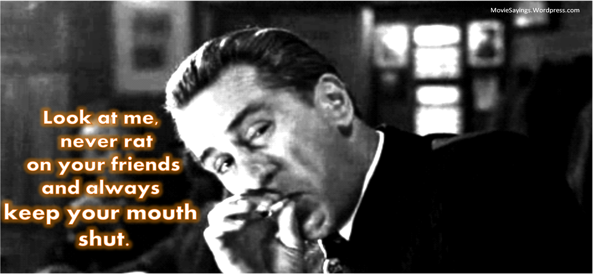 Best Goodfellas Quotes Pin by Sue Ondish on classic flix | Movie Quotes, Quotes, Film quotes Best Goodfellas Quotes