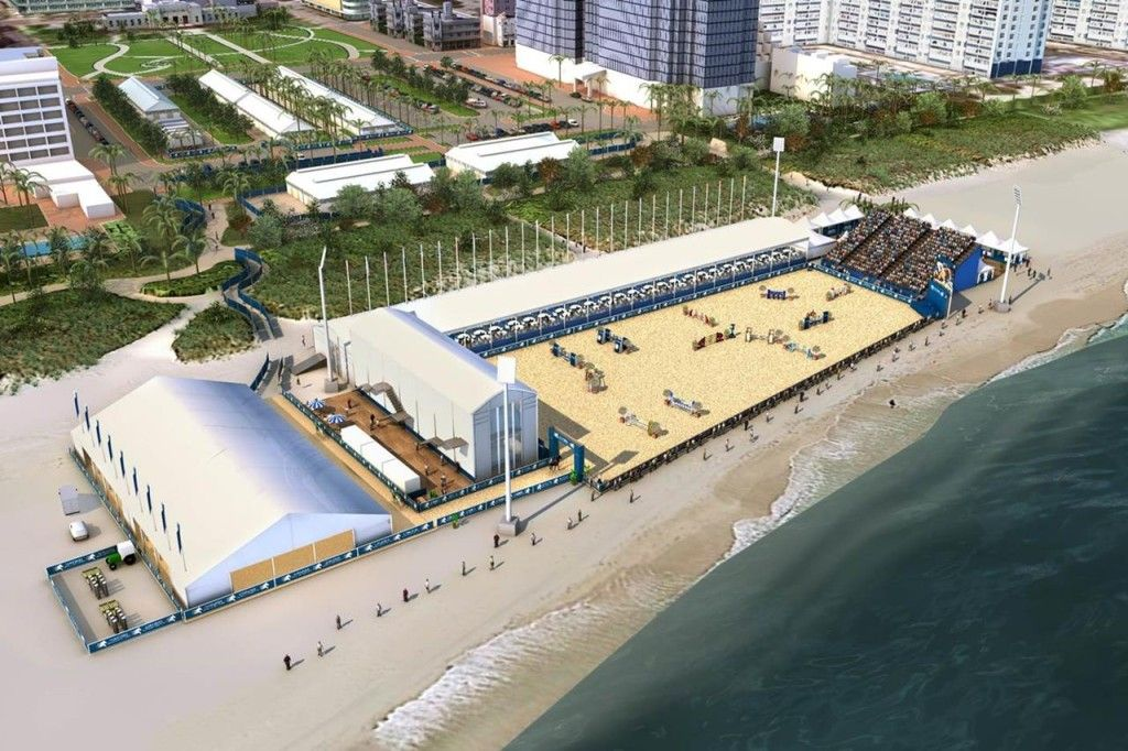 The Arena For Longines Global Tour Of Champions Miami Beach Show Jumping