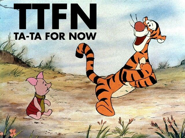 Tata for now | Winnie the pooh friends, Tigger and pooh, Winnie ...