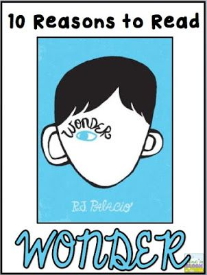 Ten Reasons To Teach Wonder By Rj Palacio To Your Students With