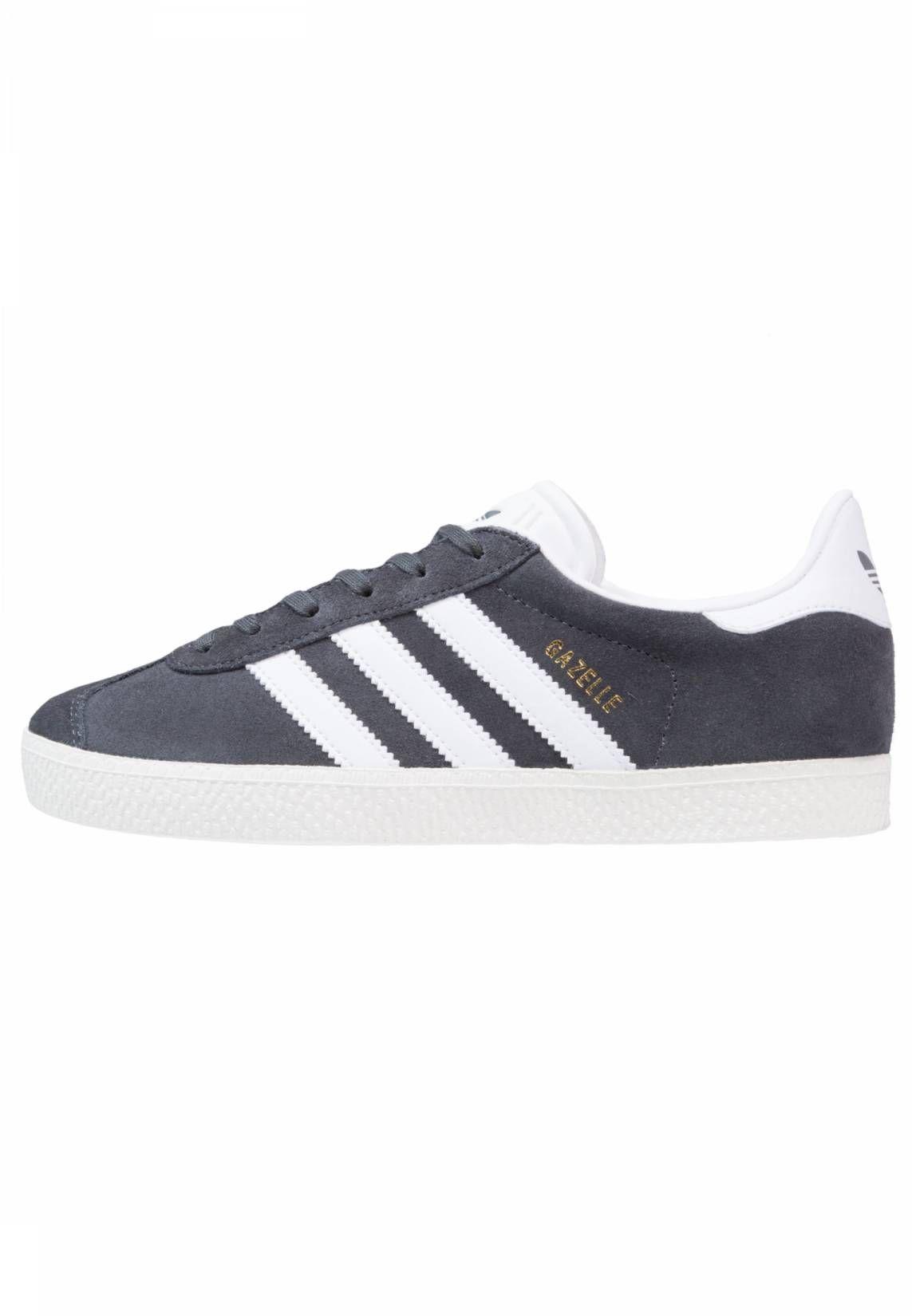 adidas Originals. GAZELLE - Zapatillas - solid grey/white ...