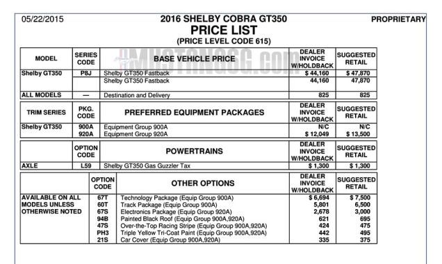 Ford Mustang Shelby GT Starts At Pinterest Ford - Ford mustang invoice price