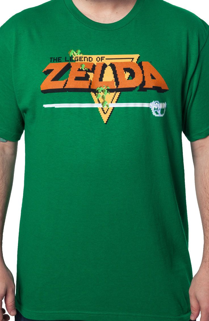 40e936b4 Legend of Zelda T-Shirt: Vidoe Games Nintendo Zelda Shirt | New Mens ...