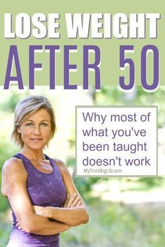 7 Powerful Tips to Lose Weight After 50 - My Think Big Life