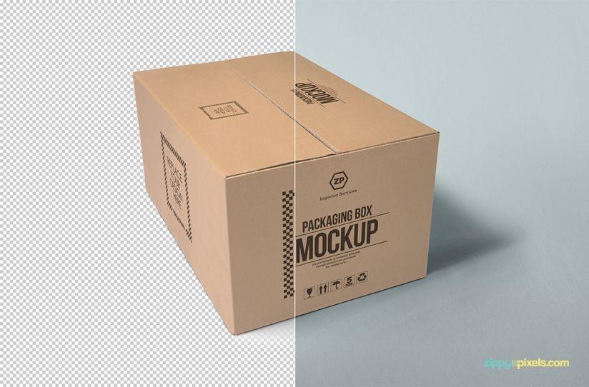 Download Packaging Box Mockup Free Psd Download Zippypixels Box Mockup Box Packaging Packaging