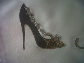 Zapato leopardo con swarovsky