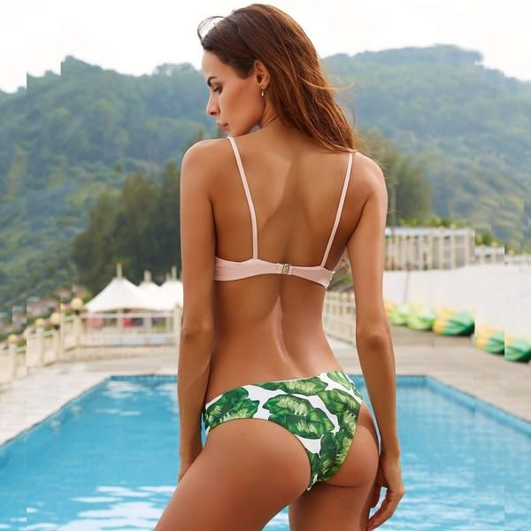 4ffd1c8ae30af Shop here for the Miss Match Cabana Fan bikini set. We sell the cutest  swimsuits at affordable prices. All bathing suits under  40. Free ship