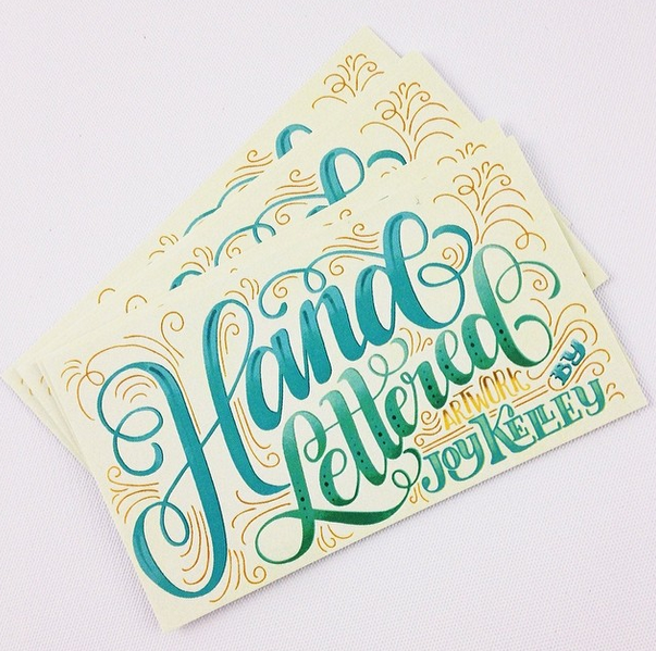 Nice lettered postcard made by http://instagram.com/howjoyful   Find more ideas and penpals on http://www.snailmail-ideas.com