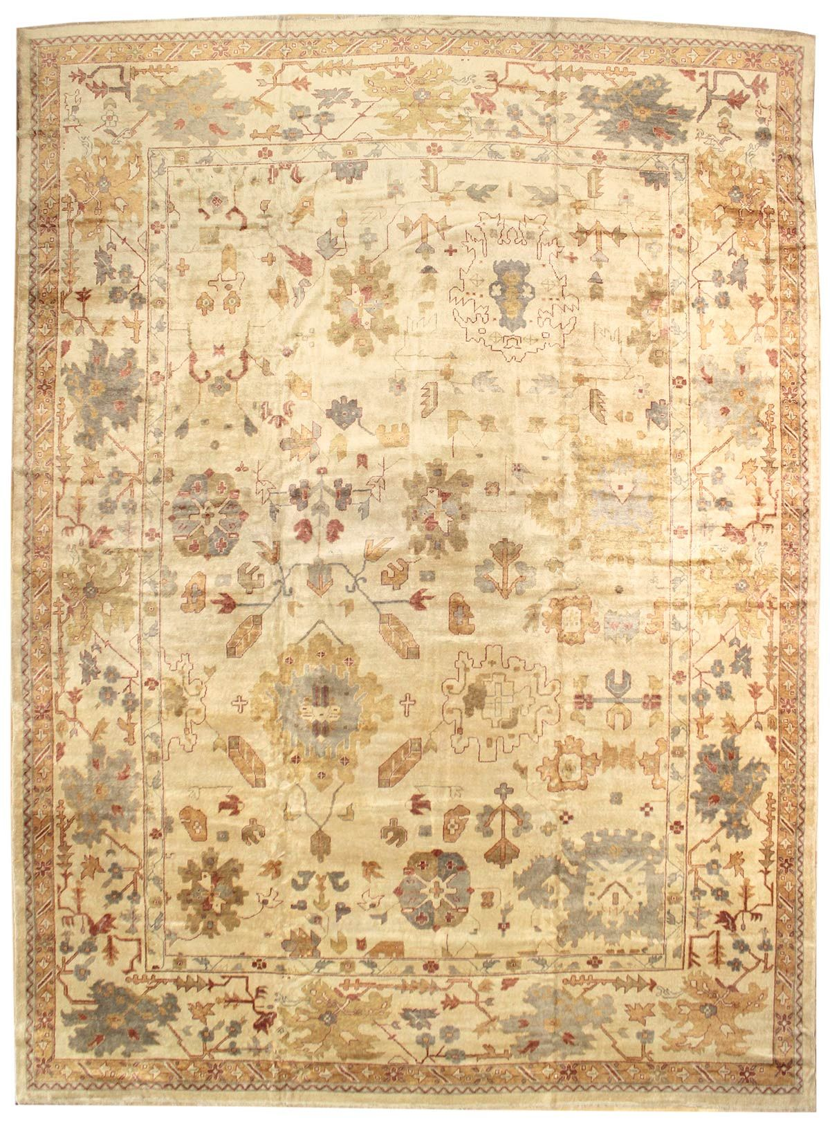 Oushak Rugs Gallery Angora Oushak Rug Hand Knotted In Turkey Size 15 Feet 1 Inch Es X 19 Feet 4 Inch Es Rugs Oushak Rug Rug Gallery