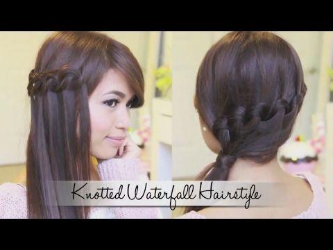 Easy Hairstyles Hair Styles Waterfall Braid Inverted French Braid