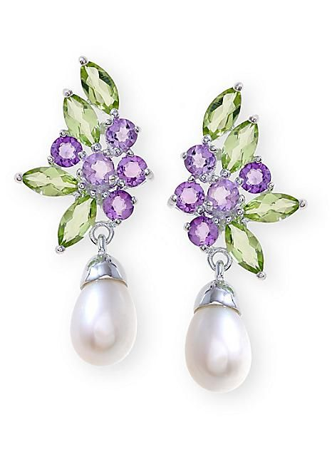 Peridot Amethyst Pearl Earrings 43x133frsp Jpg 466