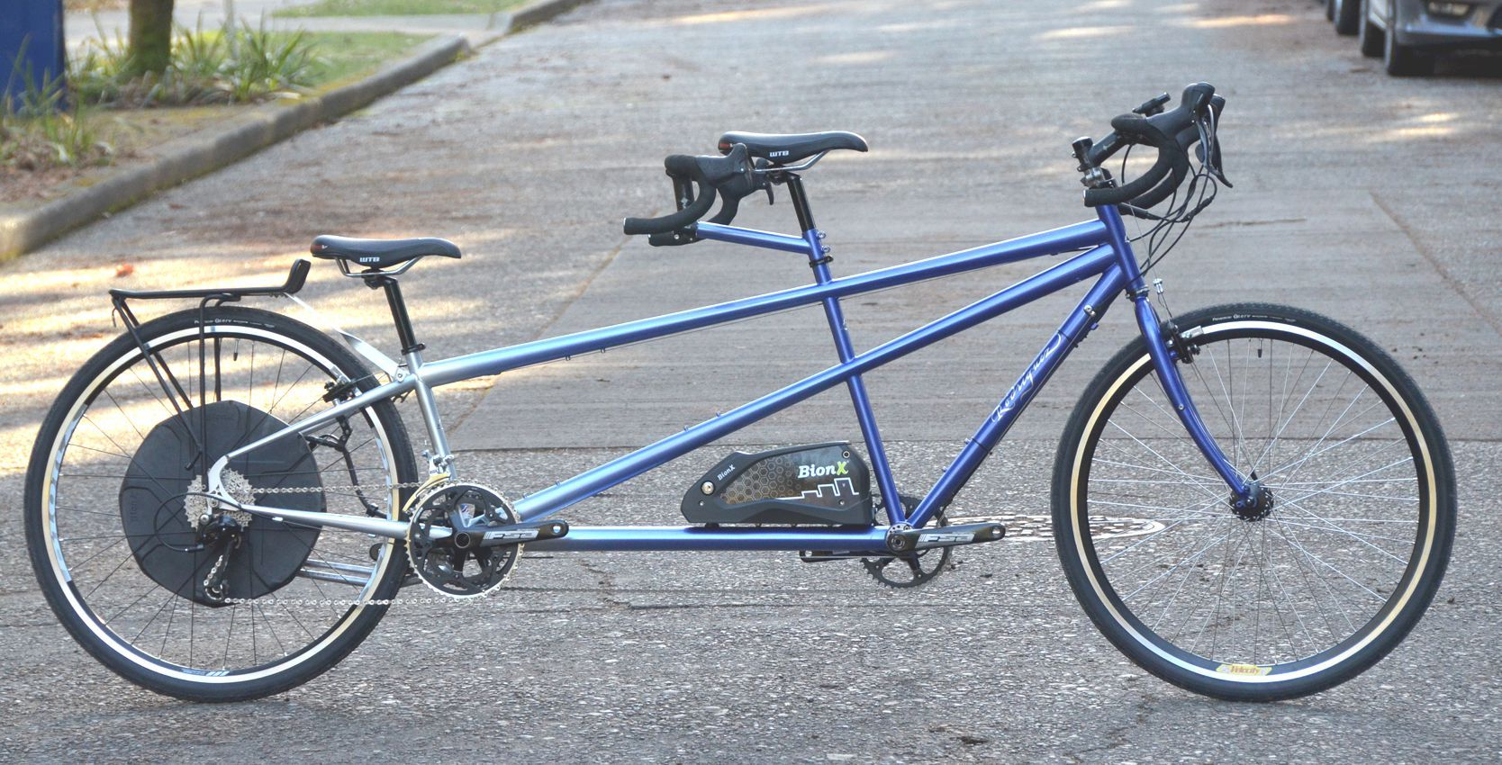 Electric Tandem By Rodriguez Bicycle Company In Seattle Custom