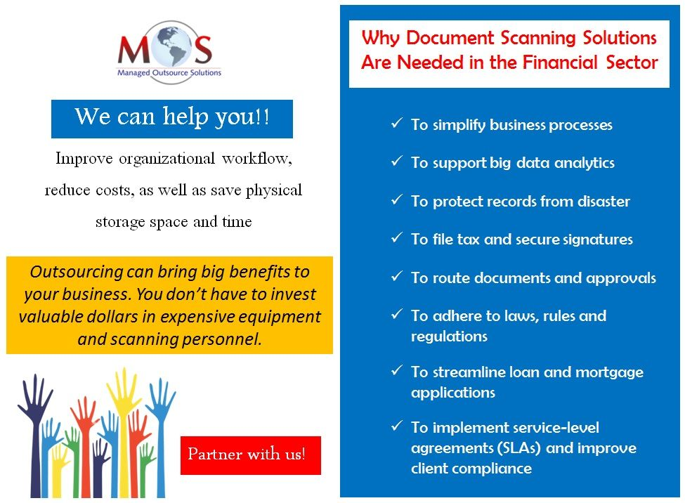 Outsource Document Scanning Services Managed Outsource