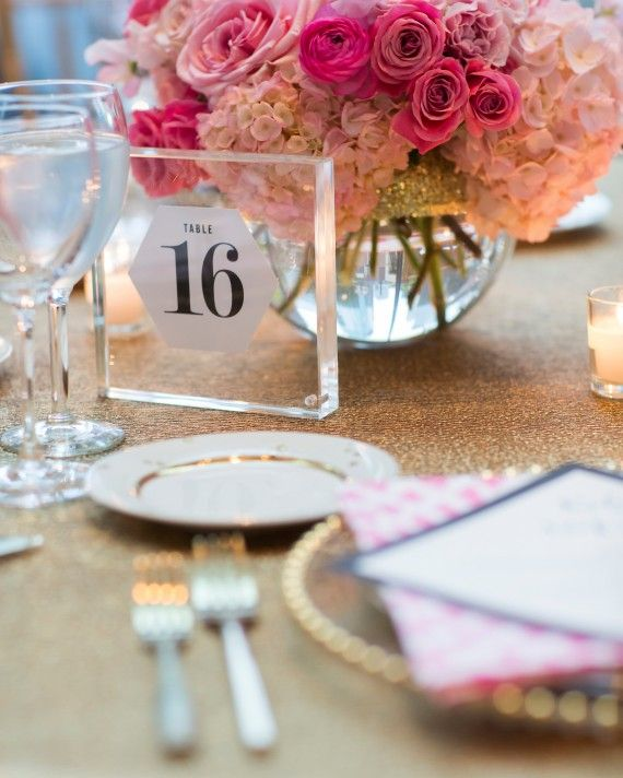 Wedding Table Card Ideas: The Prettiest Wedding Table Number Ideas From Real