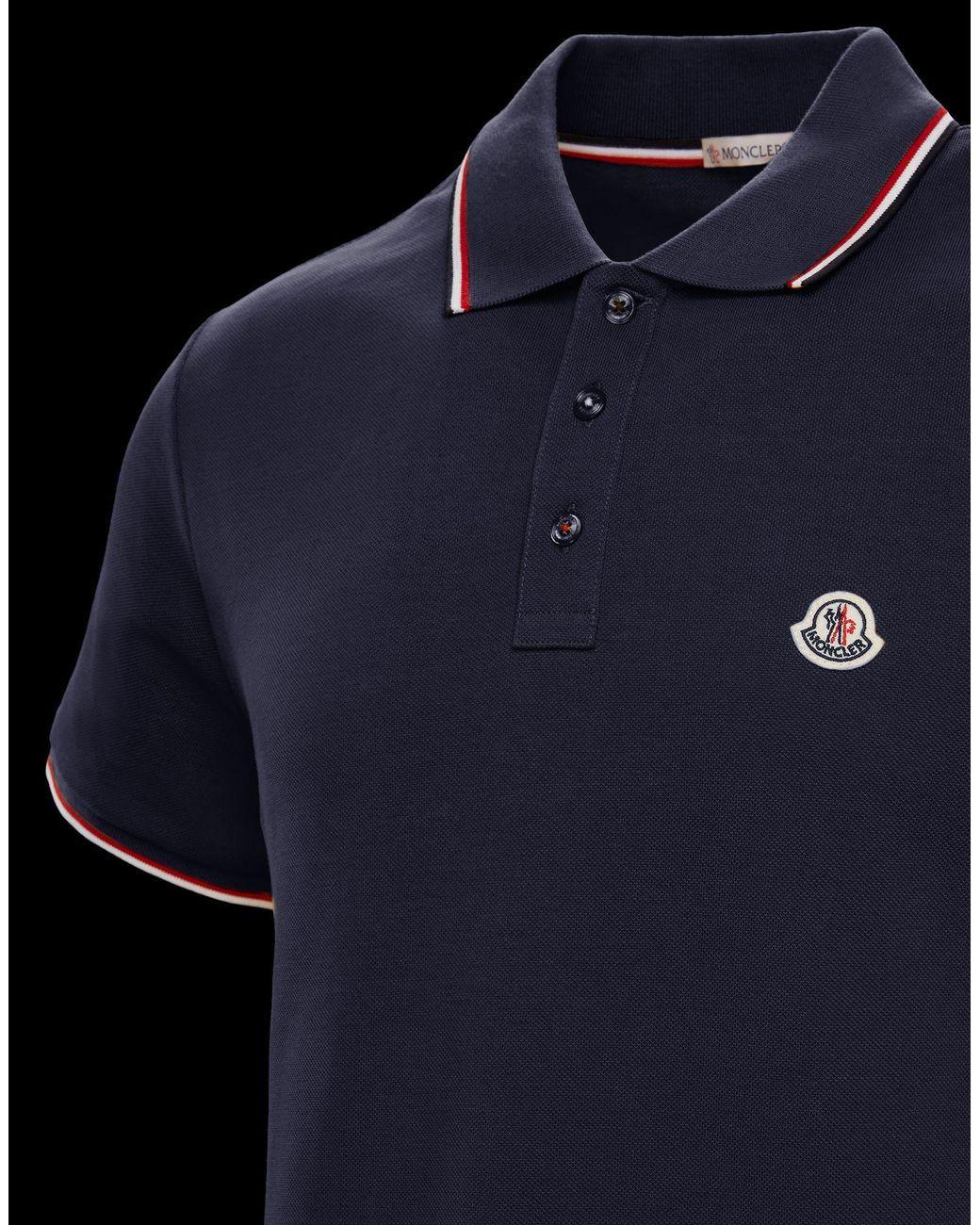 moncler polo shirt mens