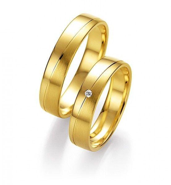 Goldene Trauringe Von Honeymoon Goldfinger Hochzeit Verlobung Gold Wedding Ring