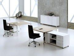 MASCAGNI / MINIMAX Scrivania quadrata Office furniture