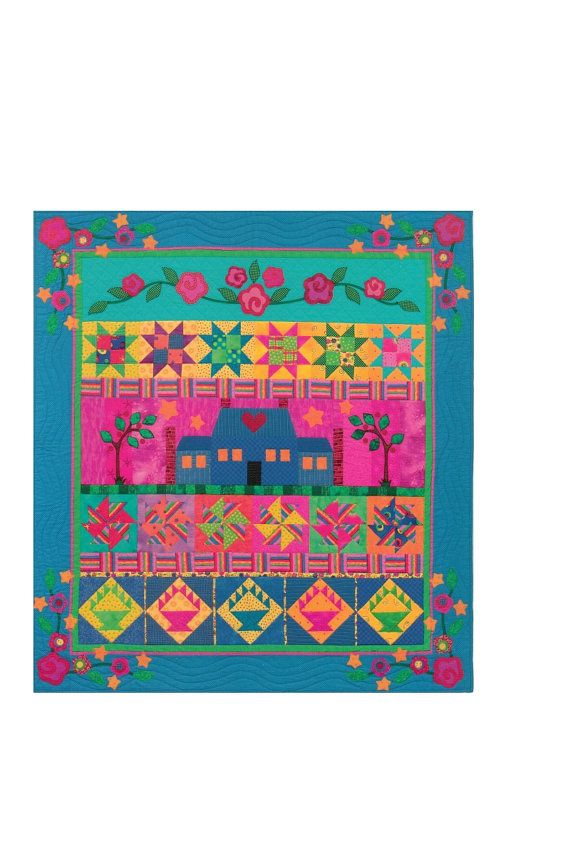 Sweet Pea Manor Quilt Pattern by Cynthia LeBlane Regone Roll Quilt ...