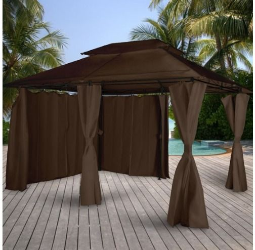 Patio Waterproof Curtained Marquee Outdoor Large Tent
