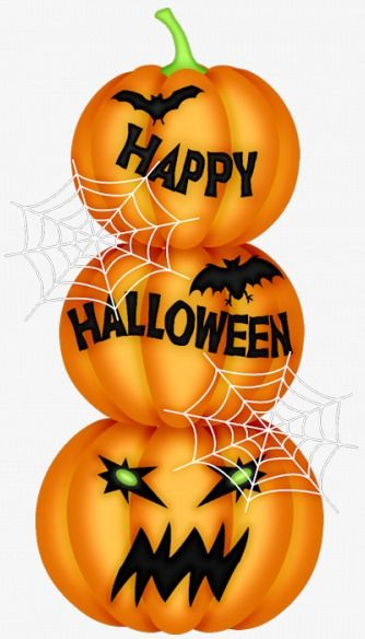 Happy Halloween Clipart - over 40 images! by Speech Doodles   TpT
