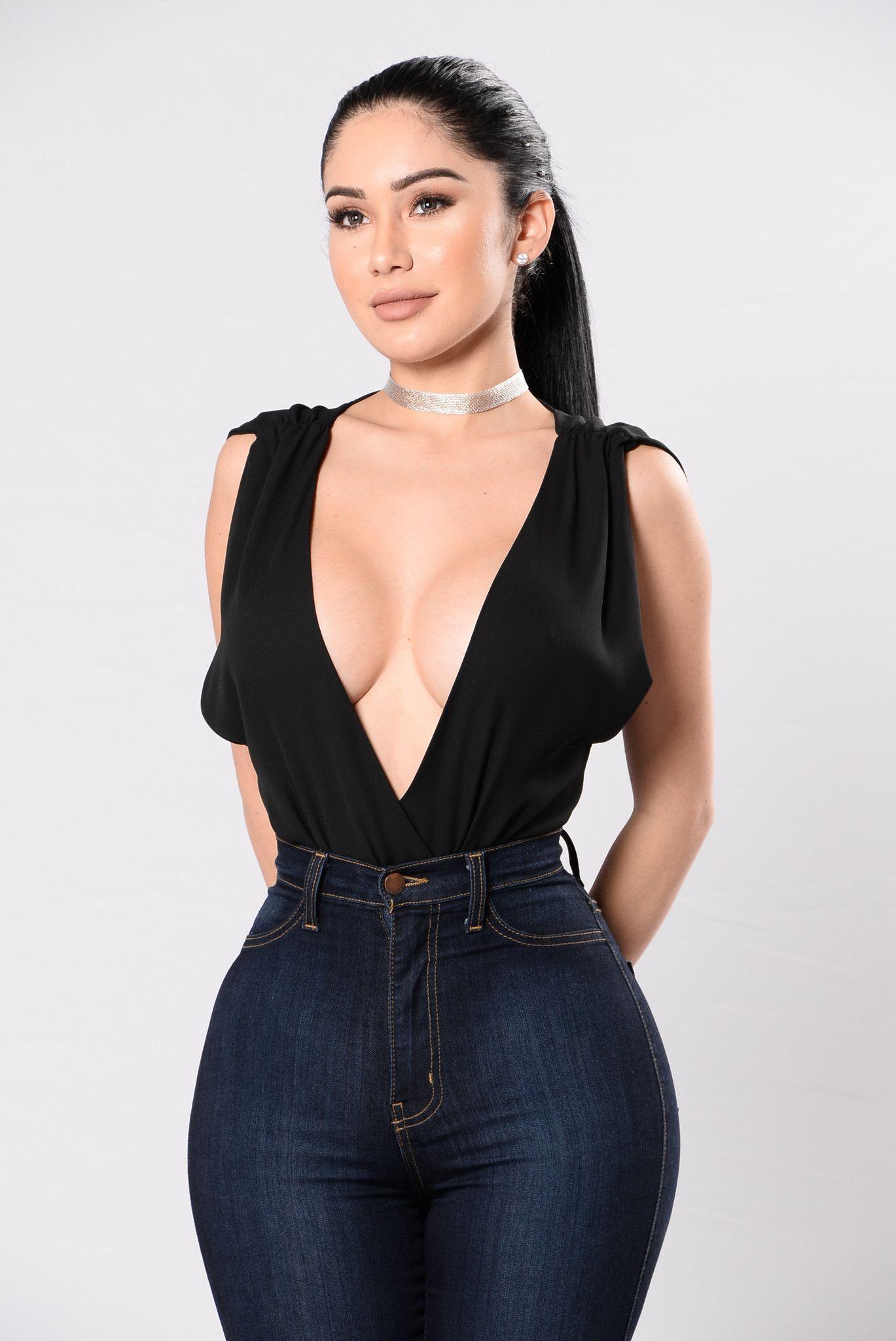 3fa8e20d69 Jasmine Bodysuit - Black