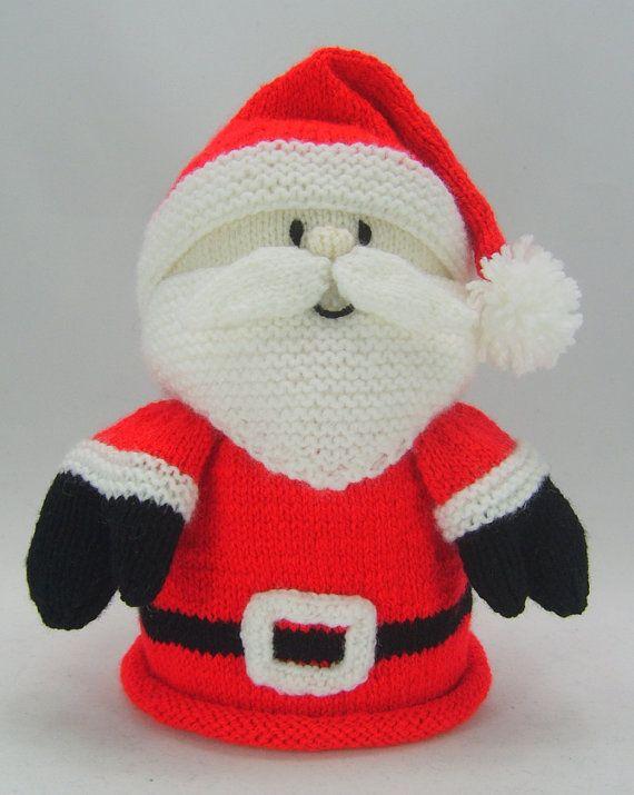 Christmas Decorations Knitting Patterns Knitting Pinterest