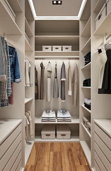 Vestidores y placares ideas dise os e im genes en 2019 for Ideas para closets pequenos