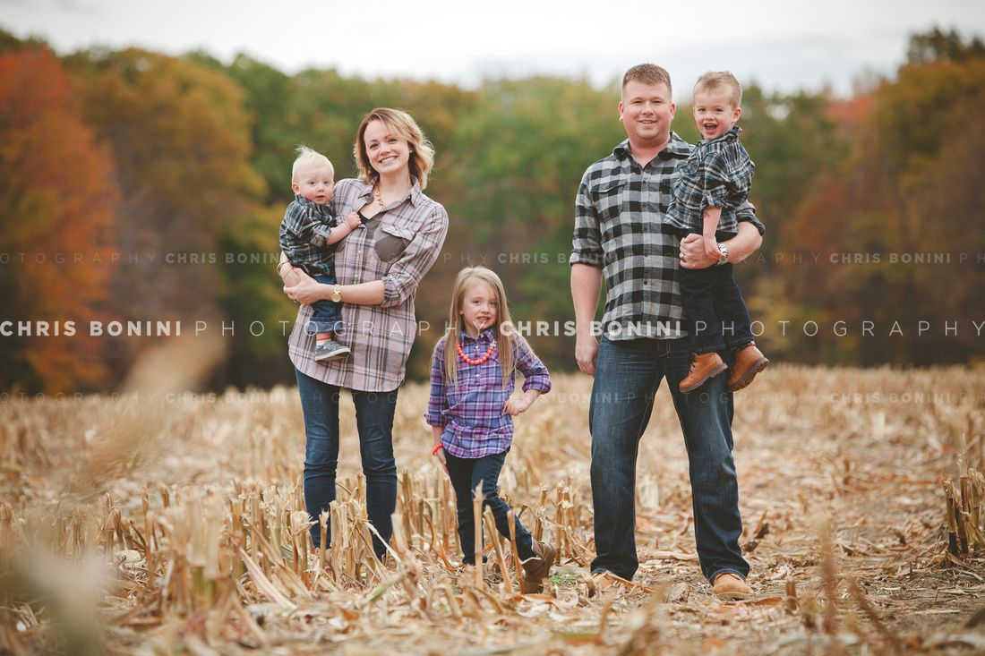 Late Fall Harvest Photoshoot In CT C Chris Bonini Photography Chrisboniniphotography Family Orchard Farm Cornfield Statepark